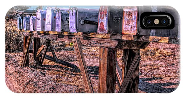 The Mailboxes IPhone Case