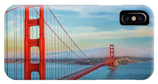 Bay Bridge iPhone Case - The Majestic by Az Jackson