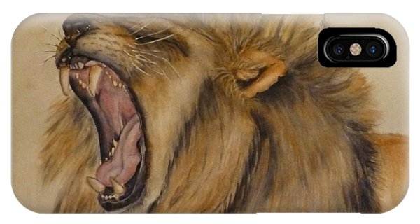 The Majestic Roar IPhone Case