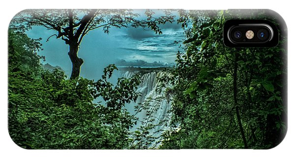 The Majestic Victoria Falls IPhone Case