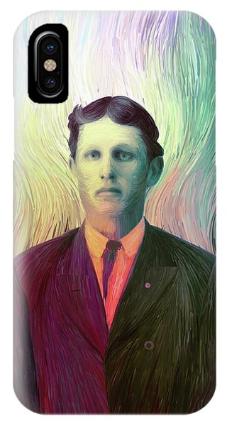 The Man With The Eyes IPhone Case