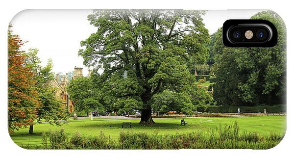 IPhone Case featuring the photograph The Manor Castle Combe by Michael Hope
