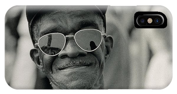 Equal iPhone Case - The March On Washington  A Smiling Man At Washington Monument Grounds by Nat Herz