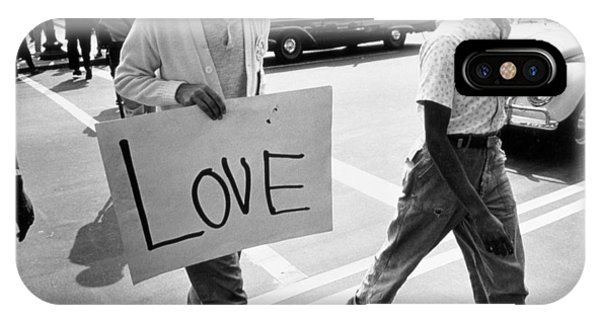 Equal iPhone Case - The March On Washington   Love by Nat Herz