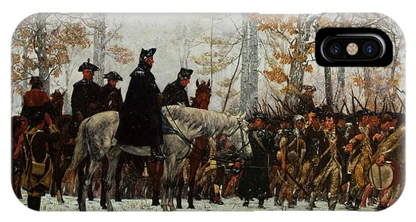 iPhone Case - The March To Valley Forge, Dec 19, 1777 by William Trego