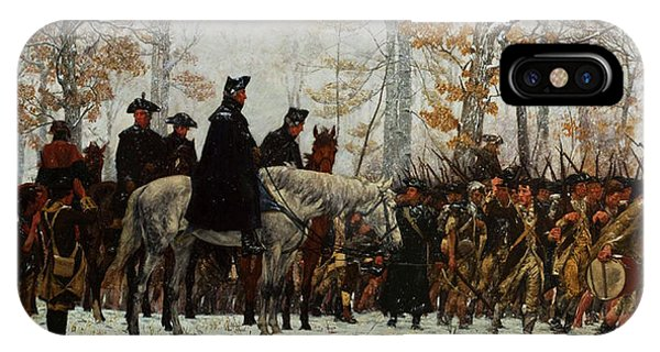 Cavalry iPhone Case - The March To Valley Forge, Dec 19, 1777 by William Trego