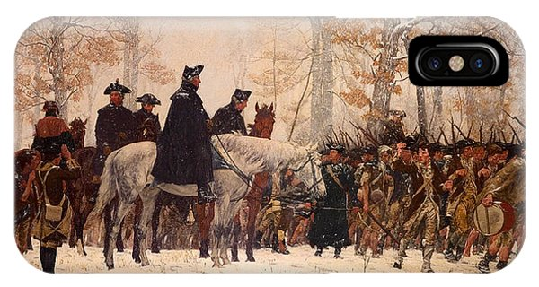 March iPhone Case - The March To Valley Forge by Mountain Dreams