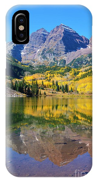 IPhone Case featuring the photograph The Maroon Bells by Kate Avery