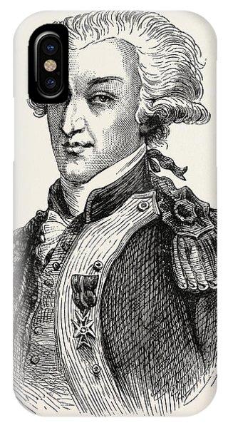 Yorktown iPhone Case - The Marquis De Lafayette by American School