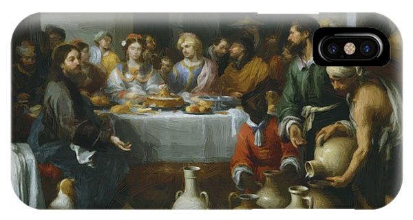 The Marriage Feast At Cana IPhone Case
