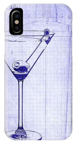 The Martini Blueprint IPhone Case