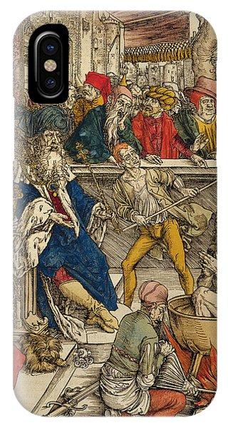 Cauldron iPhone Case - The Martyrdom Of St John by Albrecht Durer or Duerer