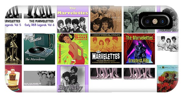 Rhythm And Blues iPhone X / XS Case - The Marvelettes 1 by Smart Aviation