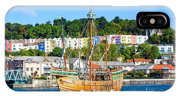 The Matthew In Bristol Harbour IPhone Case