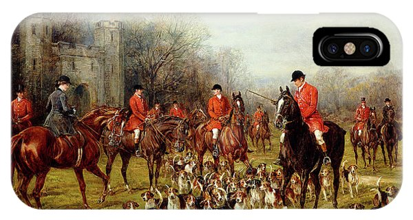 Coat iPhone Case - The Meet by Heywood Hardy