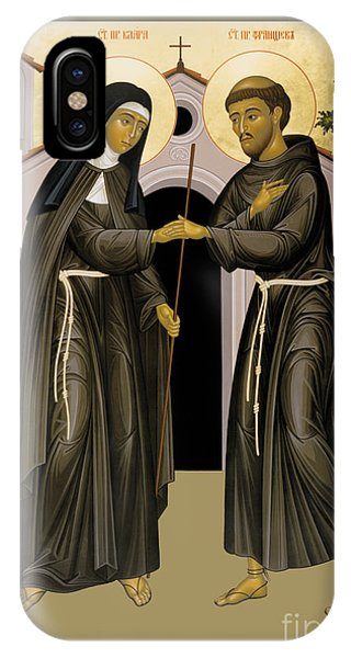 The Meeting Of Sts. Francis And Clare - Rlfac IPhone Case