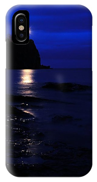 Split Rock iPhone Case - The Memory Lives On... by Larry Ricker
