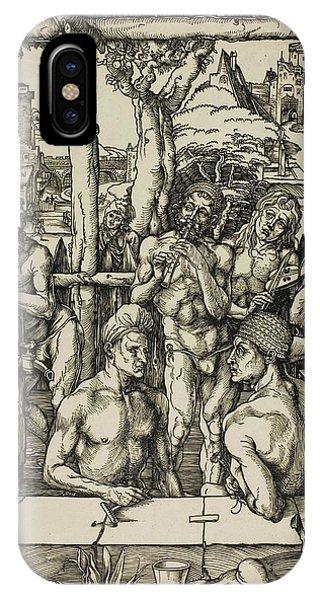 Albrecht Durer iPhone Case - The Men's Bath by Albrecht Durer