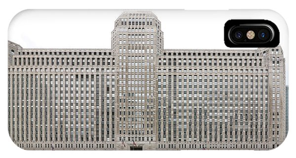 IPhone Case featuring the photograph The Merchandise Mart by Jackson Pearson