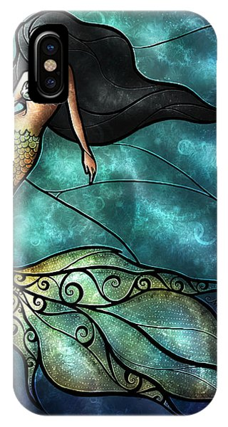 Fairy iPhone Case - The Mermaid by Mandie Manzano