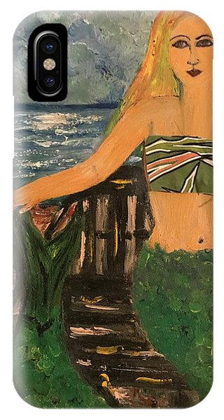 The Mermaid Of Kanaha Pond IPhone Case