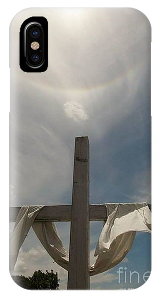 The Message Of The Cross IPhone Case