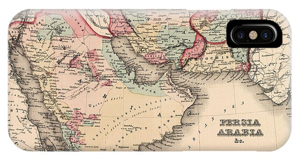 The Middle East In The Mid 19th Century IPhone Case