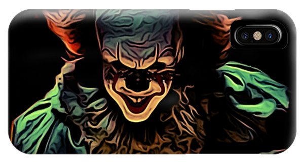 New Trend iPhone Case - the Mighty Clown by Nana Westernia
