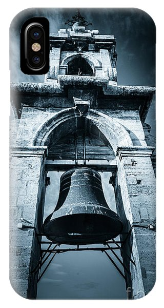 The Miguelete Bell Tower Valencia Spain IPhone Case