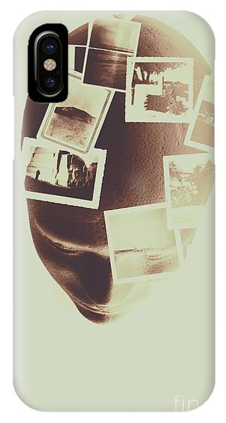 Brain iPhone Case - The Mind Manifesto by Jorgo Photography - Wall Art Gallery