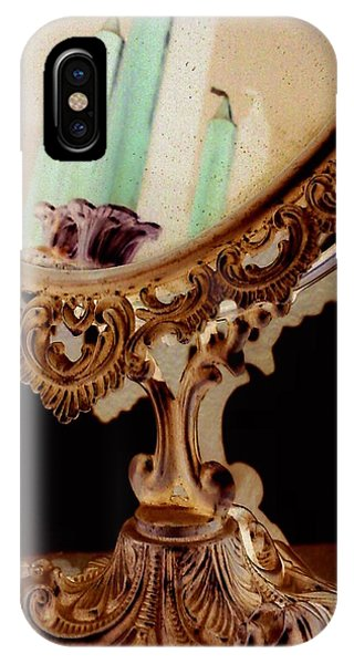 iPhone X Case - The Mirror by Orphelia Aristal
