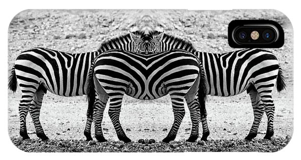 The Mirrord Zebra IPhone Case