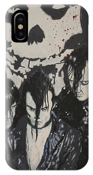 Fred Hampton iPhone X Case - The Misfits by Dustin Spagnola