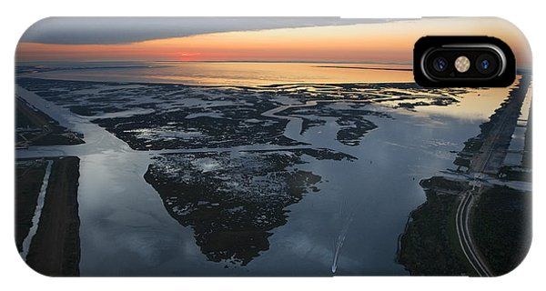 Katrina iPhone Case - The Mississippi River Gulf Outlet by Tyrone Turner