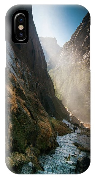 The Mist Trail IPhone Case