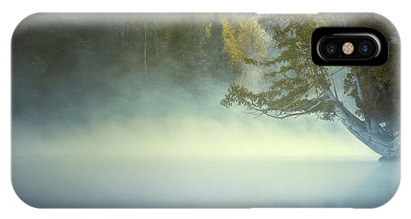 The Mists Of Hunt Lake IPhone Case