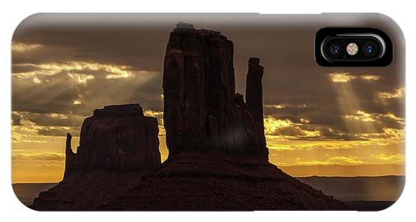 The Mittens Sunrise IPhone Case