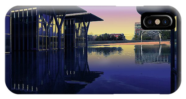 IPhone Case featuring the photograph The Modern, Fort Worth, Tx by Ricardo J Ruiz de Porras