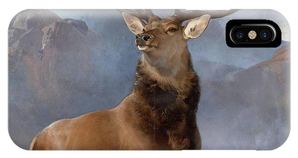 Palace iPhone Case - Monarch Of The Glen by Sir Edwin Landseer