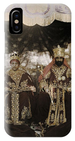 The Monarchs Haile Selassie The First IPhone Case