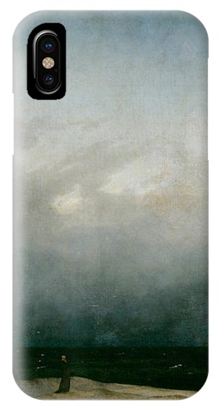 Monk By The Sea  IPhone Case
