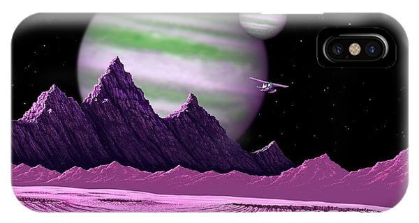 The Moons Of Meepzor IPhone Case