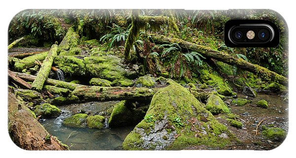 The Mossy River IPhone Case