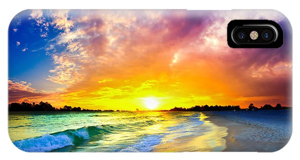 The Most Beautiful Sunset In The World IPhone Case