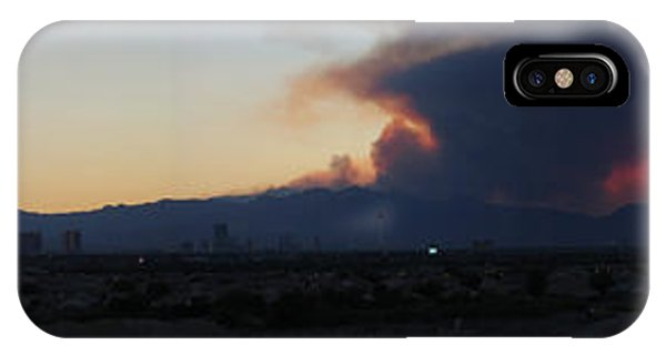 The Mount Charleston Fire IPhone Case