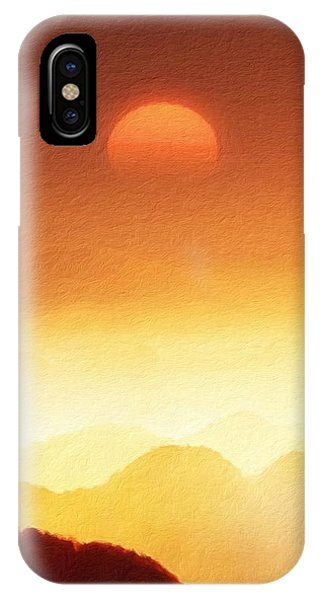 The Mountains  IPhone Case