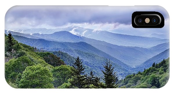 The Mountains Of Great Smoky Mountains National Park IPhone Case