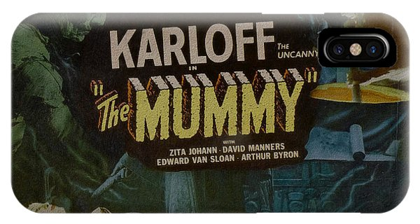 The Mummy 1929 Poster Boris Karloff IPhone Case