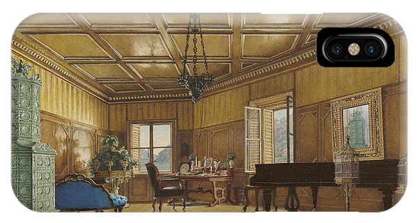 The Music Room Of Archduchess Margarete  Princess Of Saxony IPhone Case