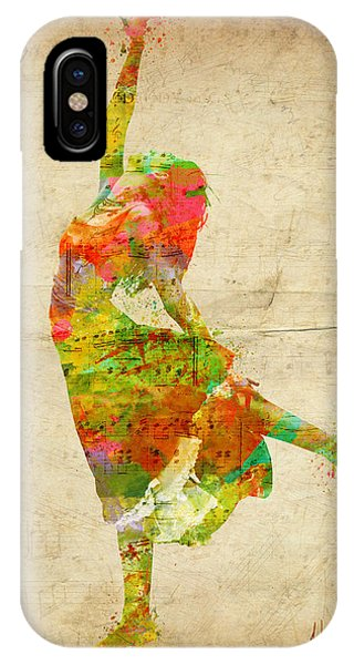 The Music Rushing Through Me IPhone Case